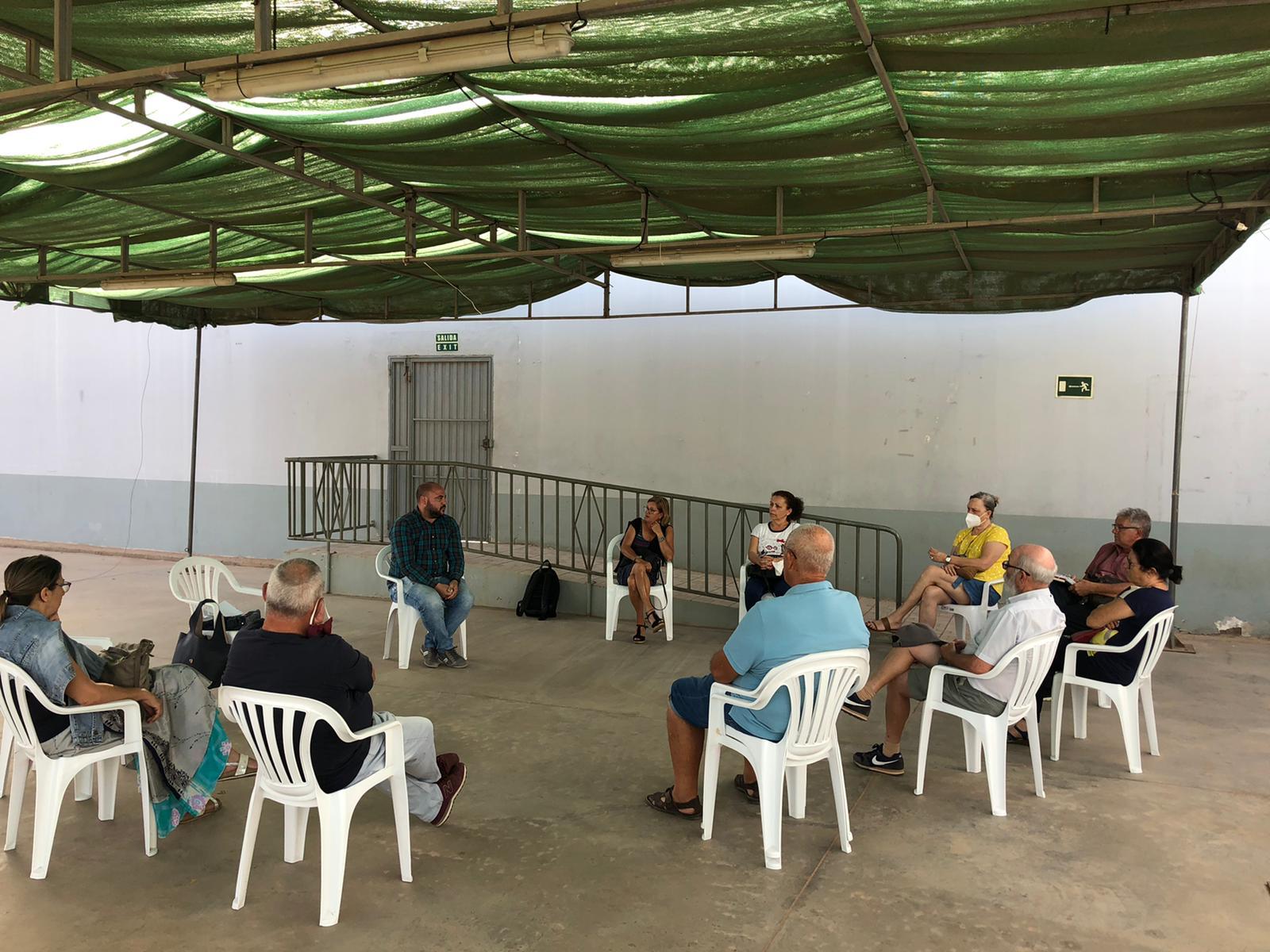 Encuentro vecinal la charca y el time. El Enfoque de Fuerteventura
